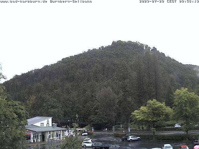 Bad Harzburger Webcam Burgberg-Seilbahn
